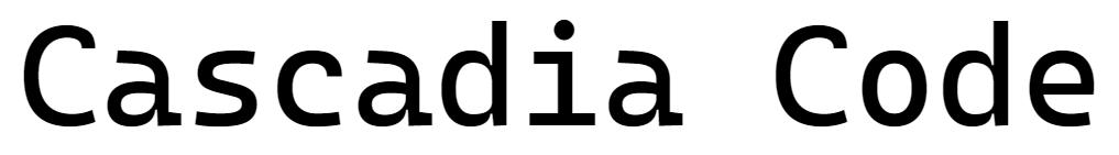 Представляем шрифт Cascadia Code - 1