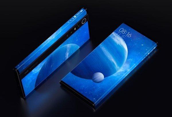 Специалисты Visionox помогали Xiaomi в создании инновационного экрана супердорогого смартфона Mix Alpha