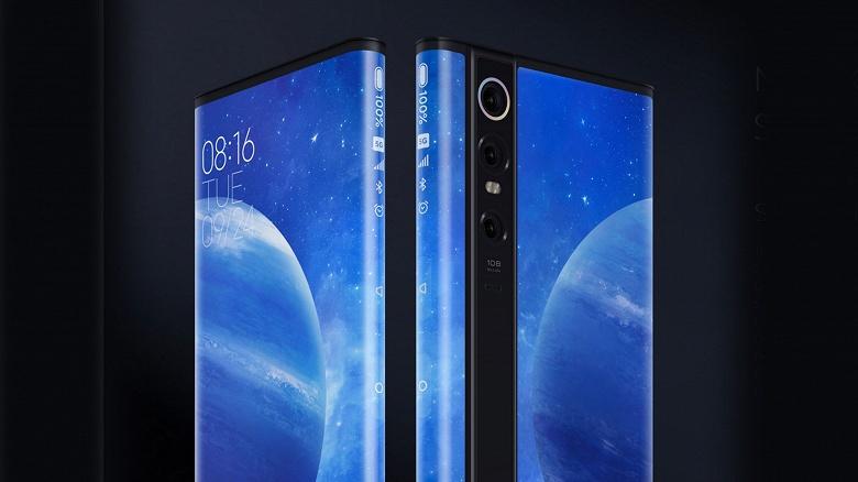 Xiaomi Mi Mix Alpha оказался проще, чем сгибающийся смартфон Xiaomi