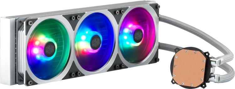 Cooler Master MasterLiquid ML360P Silver Edition: СЖО в оригинальном цвете