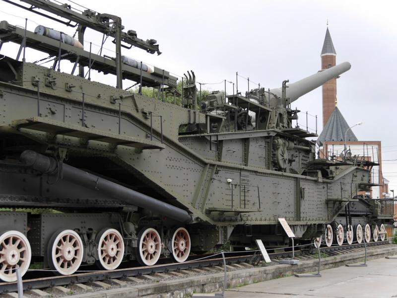 Царь-пушка на рельсах: уникальная советская артиллерия