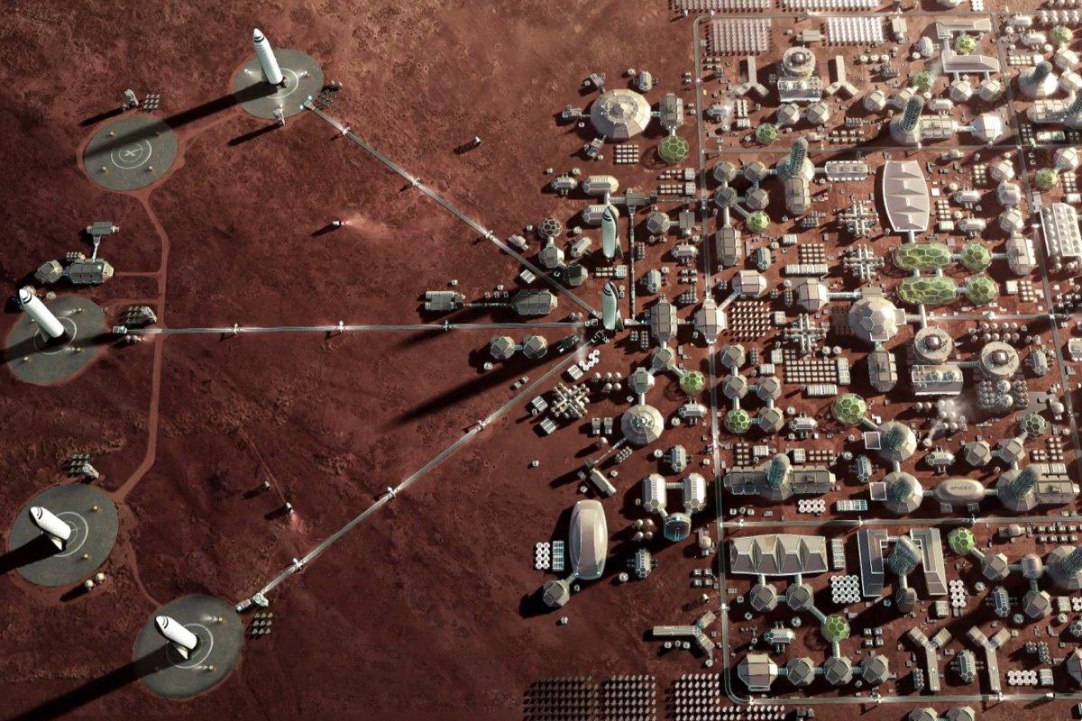 Марс прокормит миллион поселенцев. Учёные разработали стратегию для марсианской колонии на первые 100 лет - 1