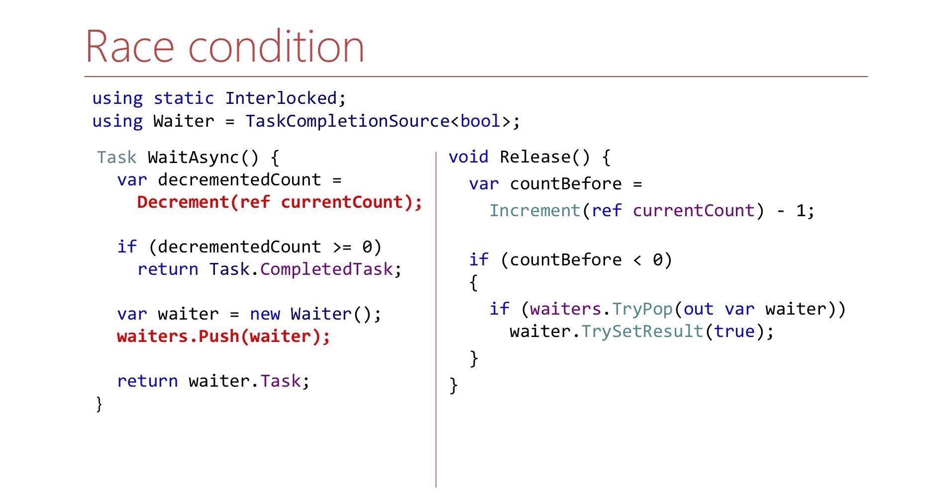 Многопоточность в .NET: когда не хватает производительности - 10