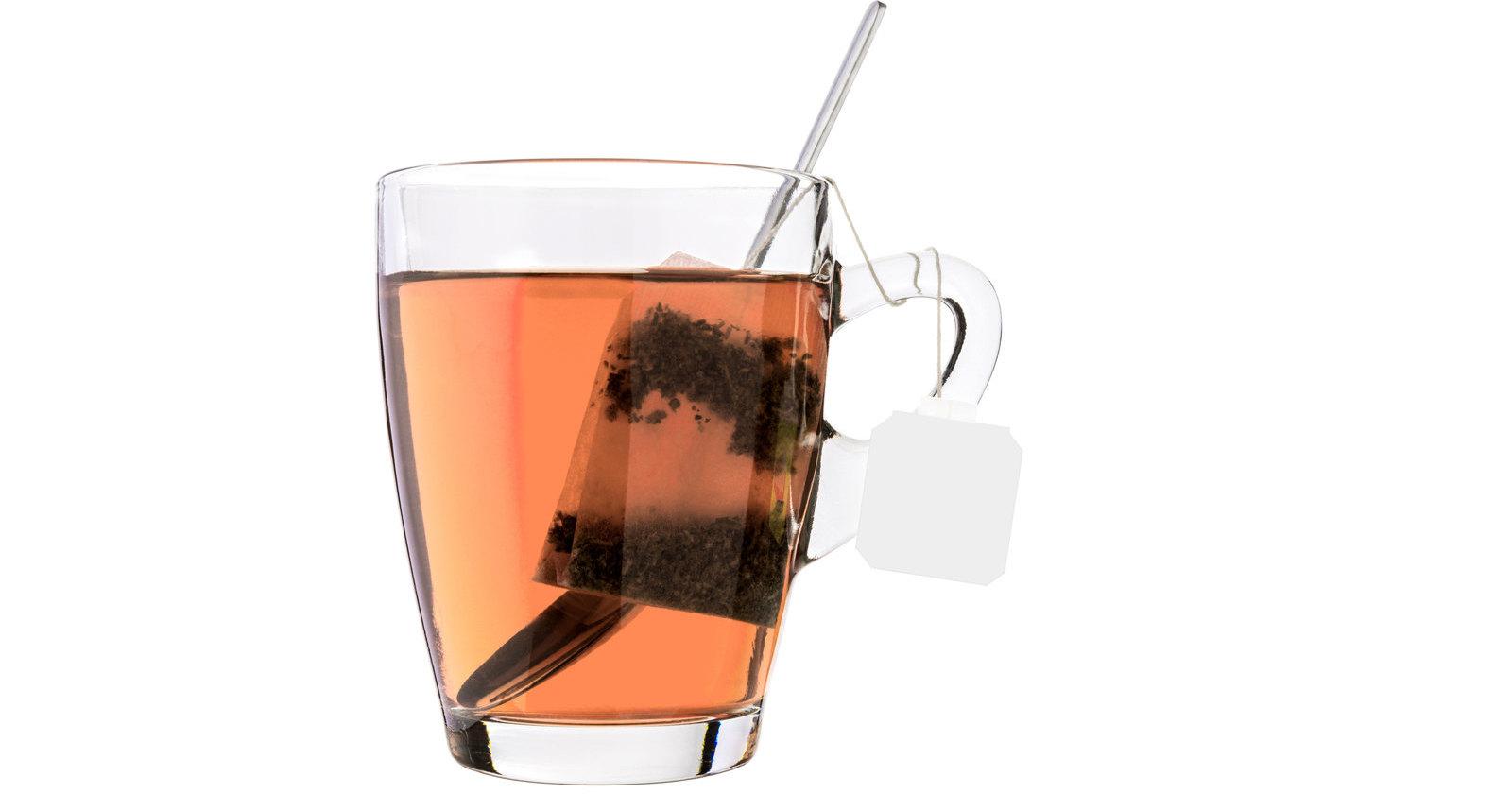 Пакетики чая признали опасными для человека