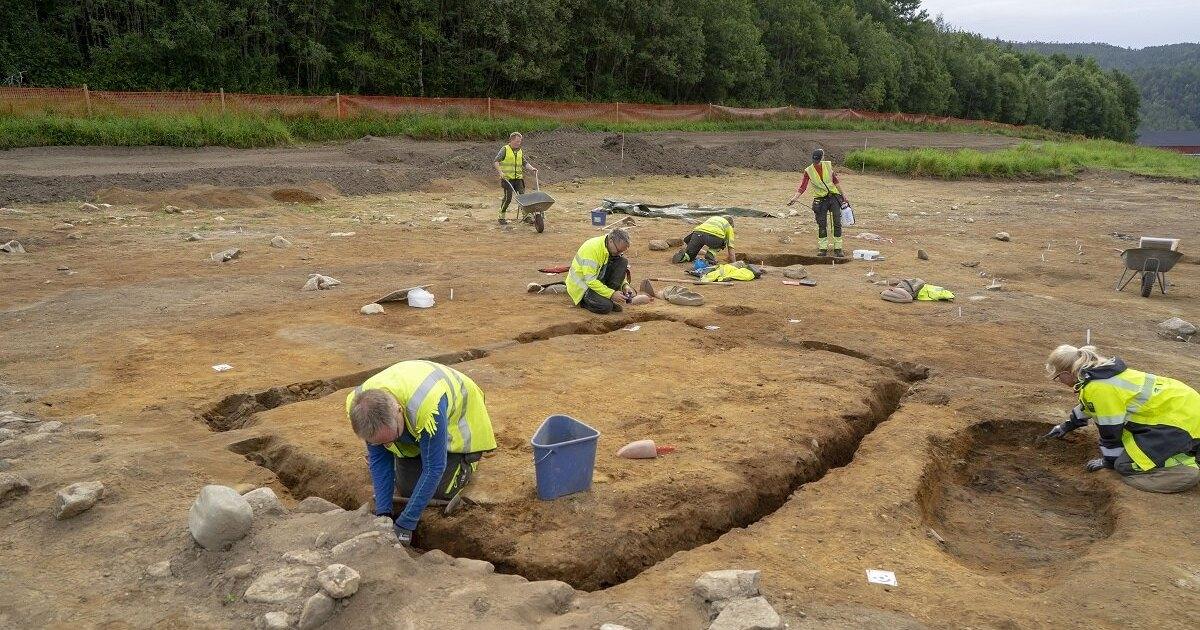 В Норвегии найден похоронный дом викингов