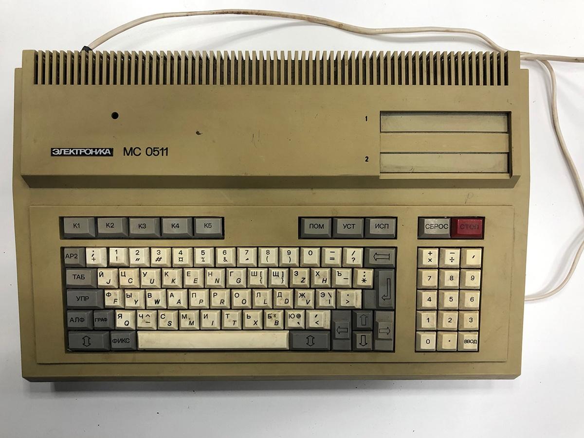 Музей DataArt. Распаковываем «Электронику МС 0511» - 1