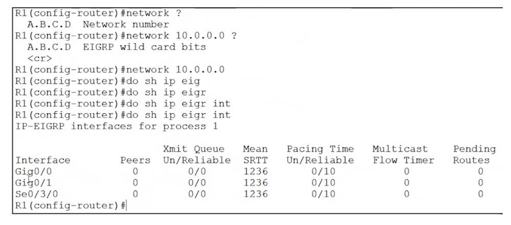 Тренинг Cisco 200-125 CCNA v3.0. День 50. Настройка EIGRP - 4