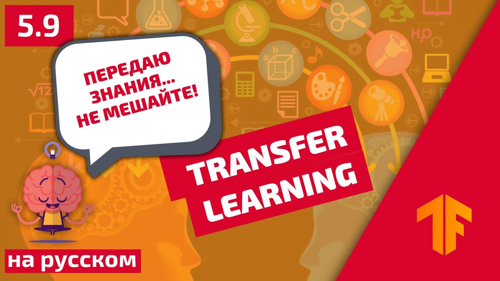 Погружение в свёрточные нейронные сети: передача обучения (transfer learning) - 1