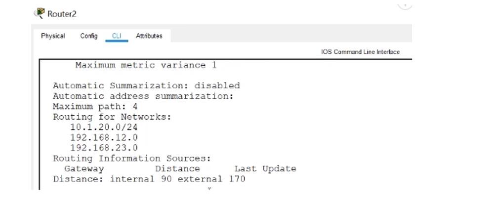 Тренинг Cisco 200-125 CCNA v3.0. День 51. Устранение неполадок EIGRP - 13