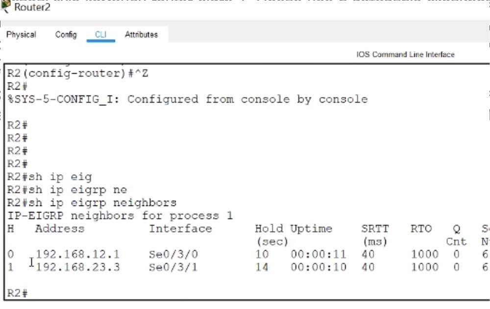 Тренинг Cisco 200-125 CCNA v3.0. День 51. Устранение неполадок EIGRP - 14