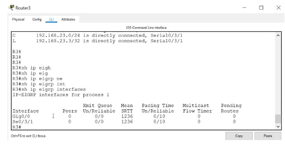 Тренинг Cisco 200-125 CCNA v3.0. День 51. Устранение неполадок EIGRP - 8