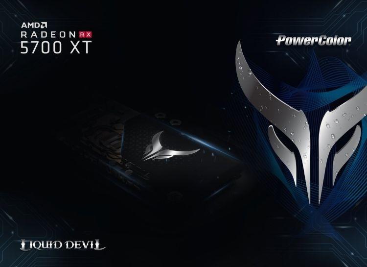 Видеокарта PowerColor Radeon RX 5700 XT Liquid Devil будет оснащаться водоблоком