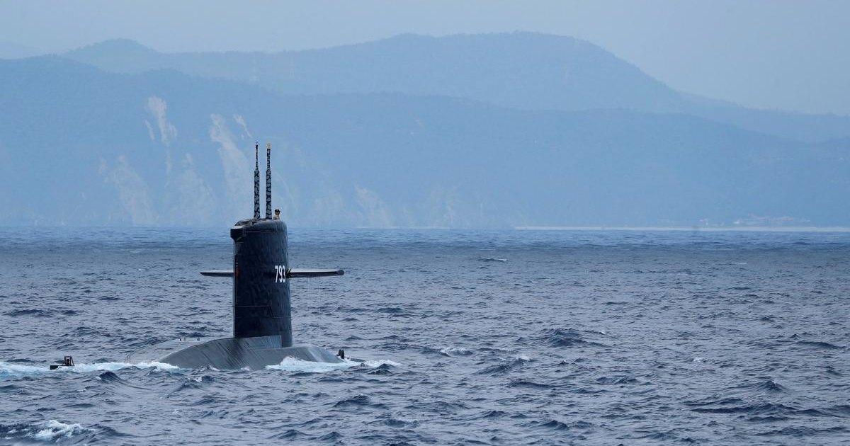 Как тонет подводная лодка: видео изнутри