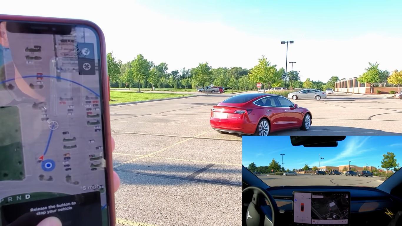 Пользователи электромобилей Tesla начали тестировать обновленный режим удаленного управления «Smart Summon» - 2