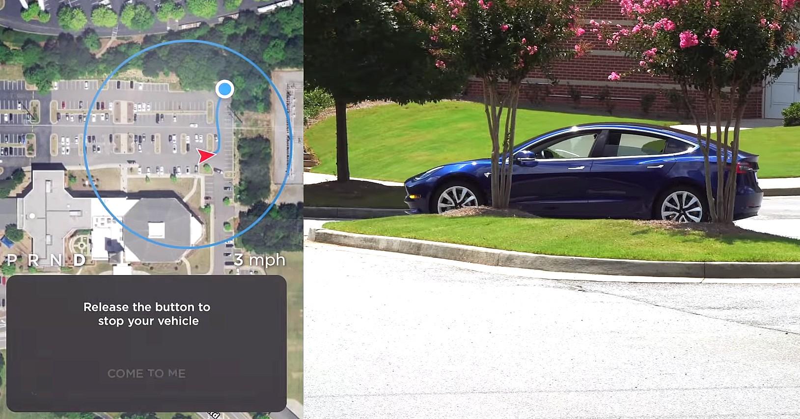 Пользователи электромобилей Tesla начали тестировать обновленный режим удаленного управления «Smart Summon» - 1