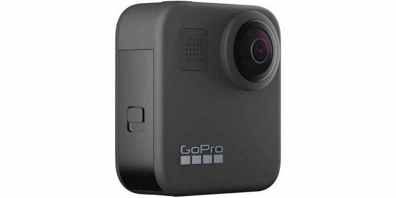 Представлена панорамная камера GoPro Max 360 для съёмки сферического видео