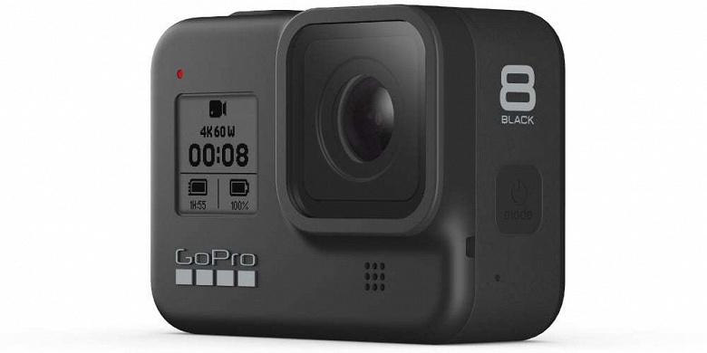Заметно дешевле ожидаемого и со встроенным креплением. Представлена камера GoPro Hero 8