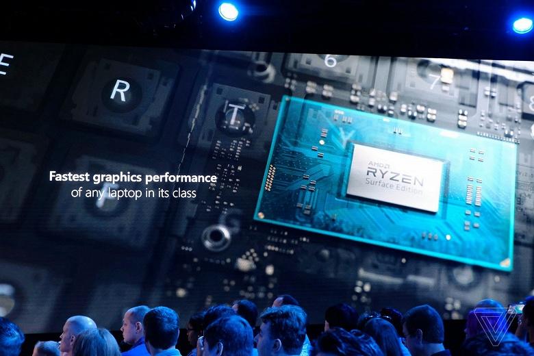 AMD Ryzen Surface Edition — первые потребительские мобильные процессоры компании, созданные специально для нужд одного из заказчиков