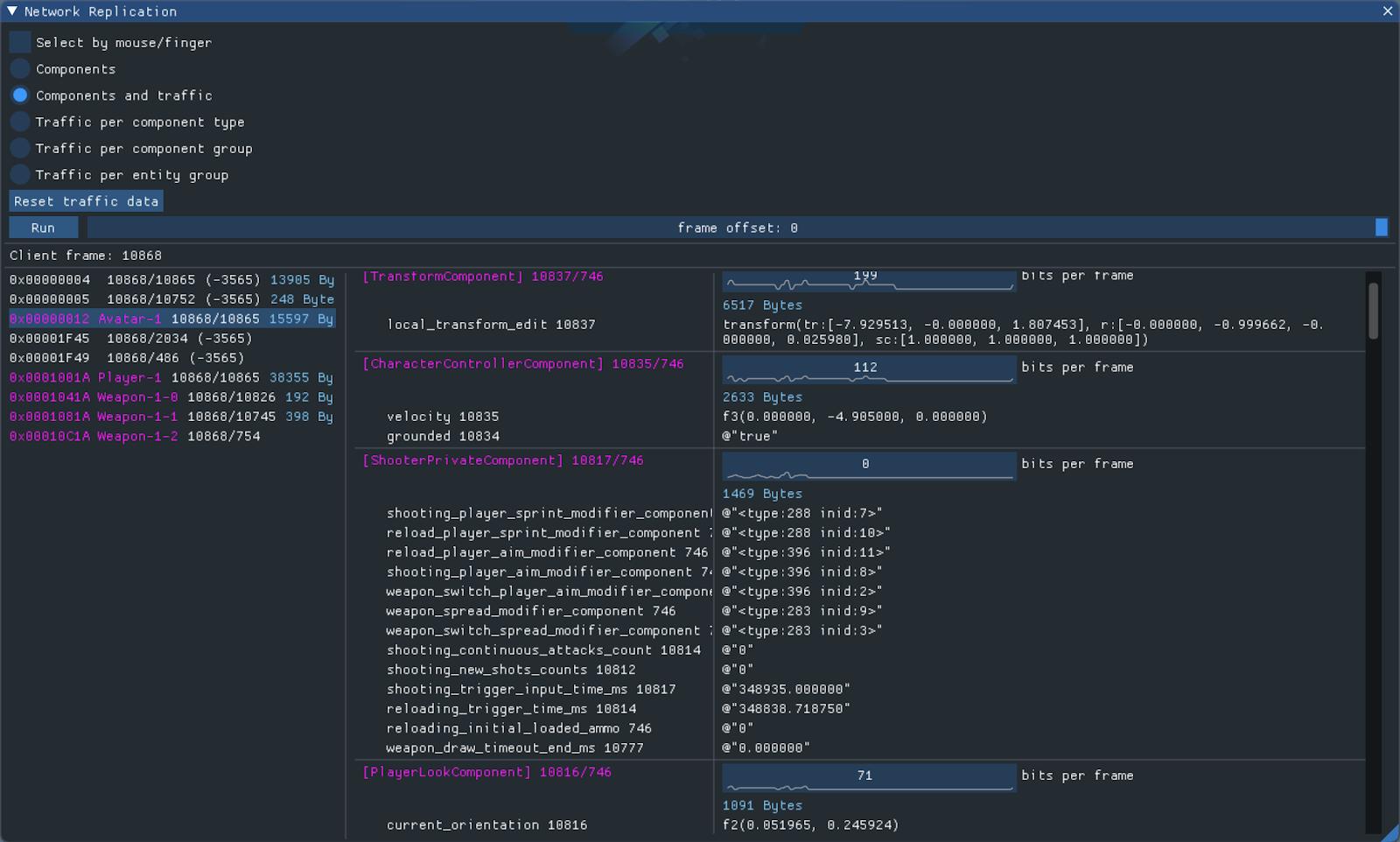 Blitz Engine & Battle Prime: ECS и сетевой код - 6