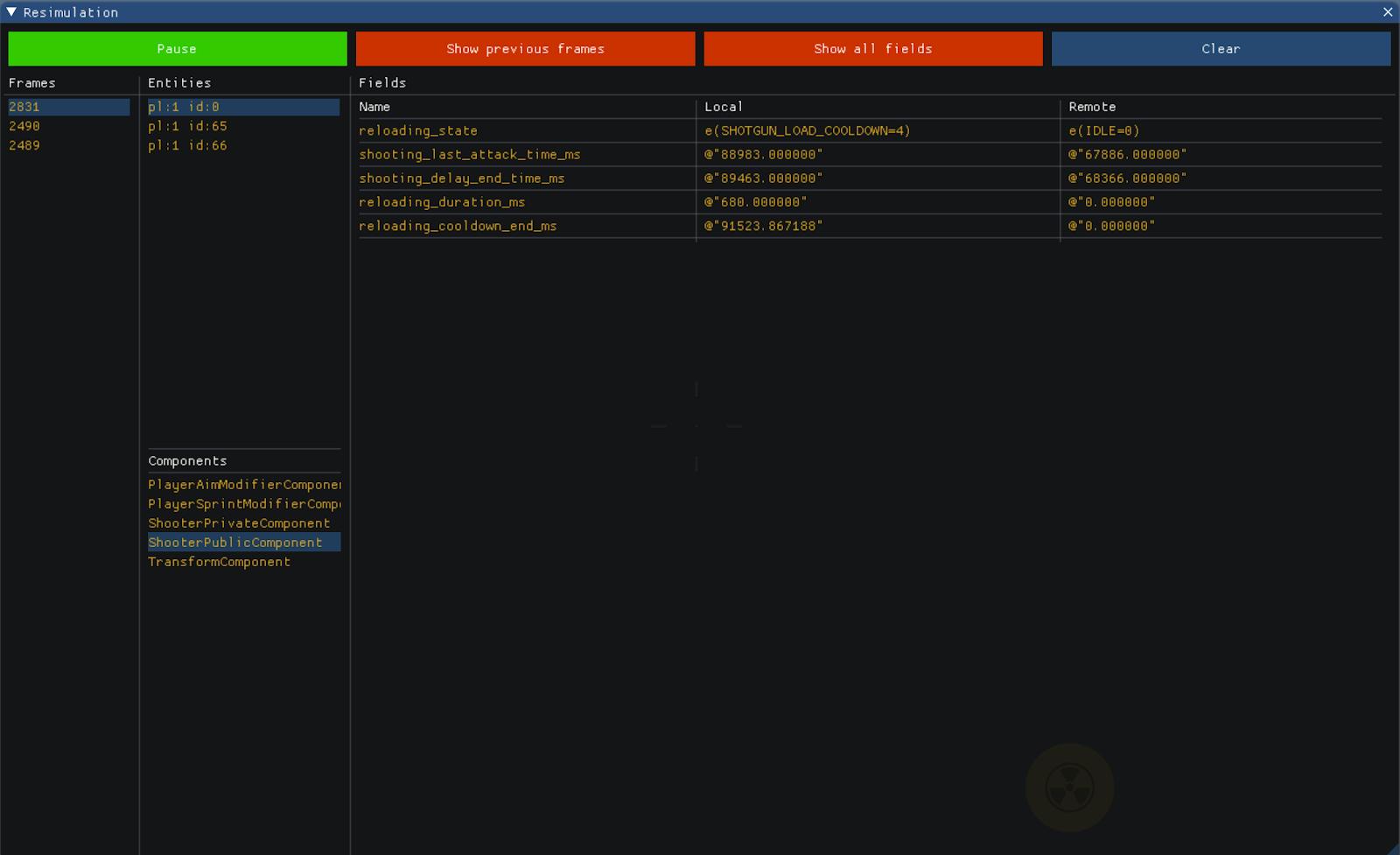 Blitz Engine & Battle Prime: ECS и сетевой код - 7