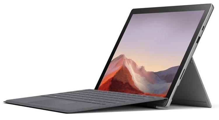 Microsoft Surface Pro 7: гибридный планшет с 12,3″ дисплеем и портом USB Type-C