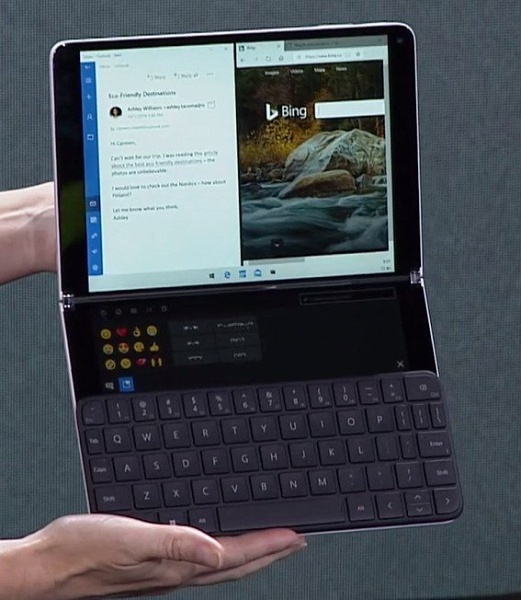 Microsoft представила Windows 10X с новым меню «Пуск» и без «Живых плиток»