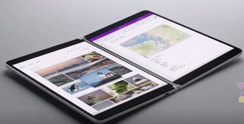 Когда одного экрана мало. Microsoft представила революционное устройство Surface Neo
