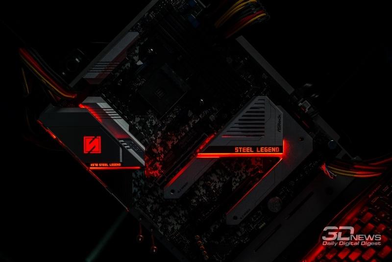 Новая статья: Обзор материнской платы ASRock X570 Steel Legend: начальный уровень X570