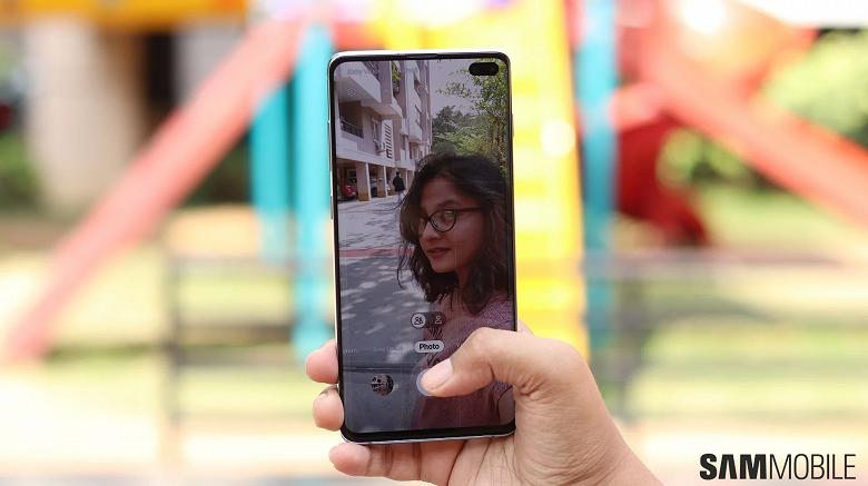 Ускорение времени, как с Galaxy Note10. На смартфоны Samsung Galaxy S10 пришёл новый режим для селфи-камеры