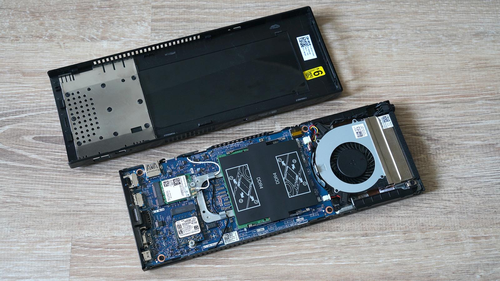 Dell OptiPlex 7070 Ultra: модульный компьютер, который превращает в моноблок любой монитор - 16