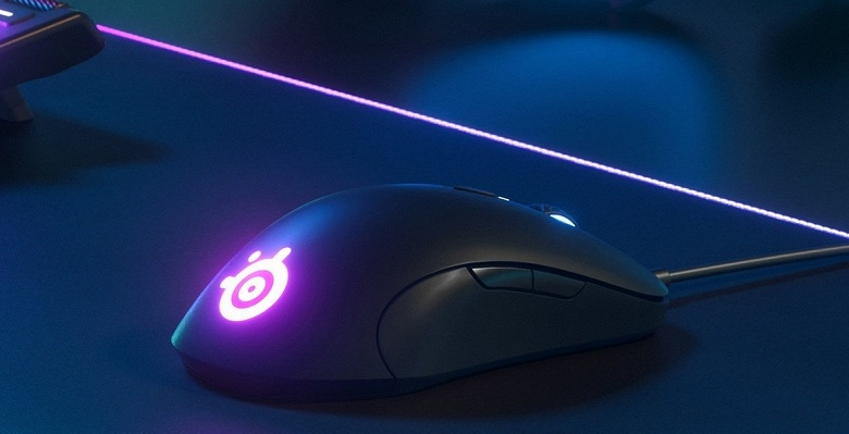 Игровая мышь SteelSeries Sensei Ten оснащена восемью кнопками