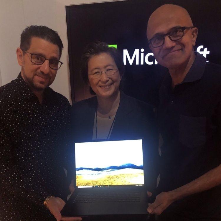 Выход Surface Laptop на базе Ryzen заставил аналитиков поверить в потенциал AMD