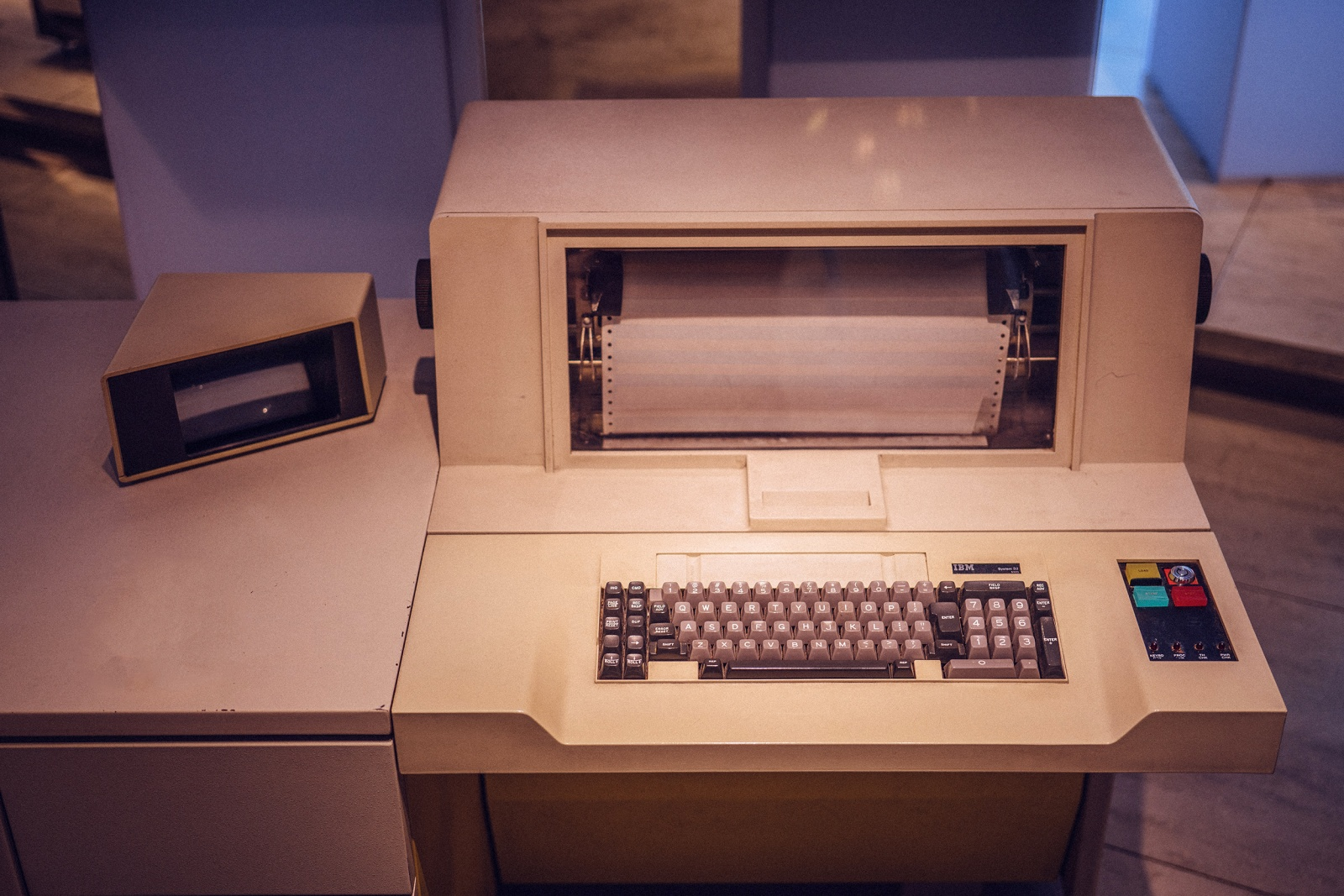 Когда клавиатуры были столами - 22
