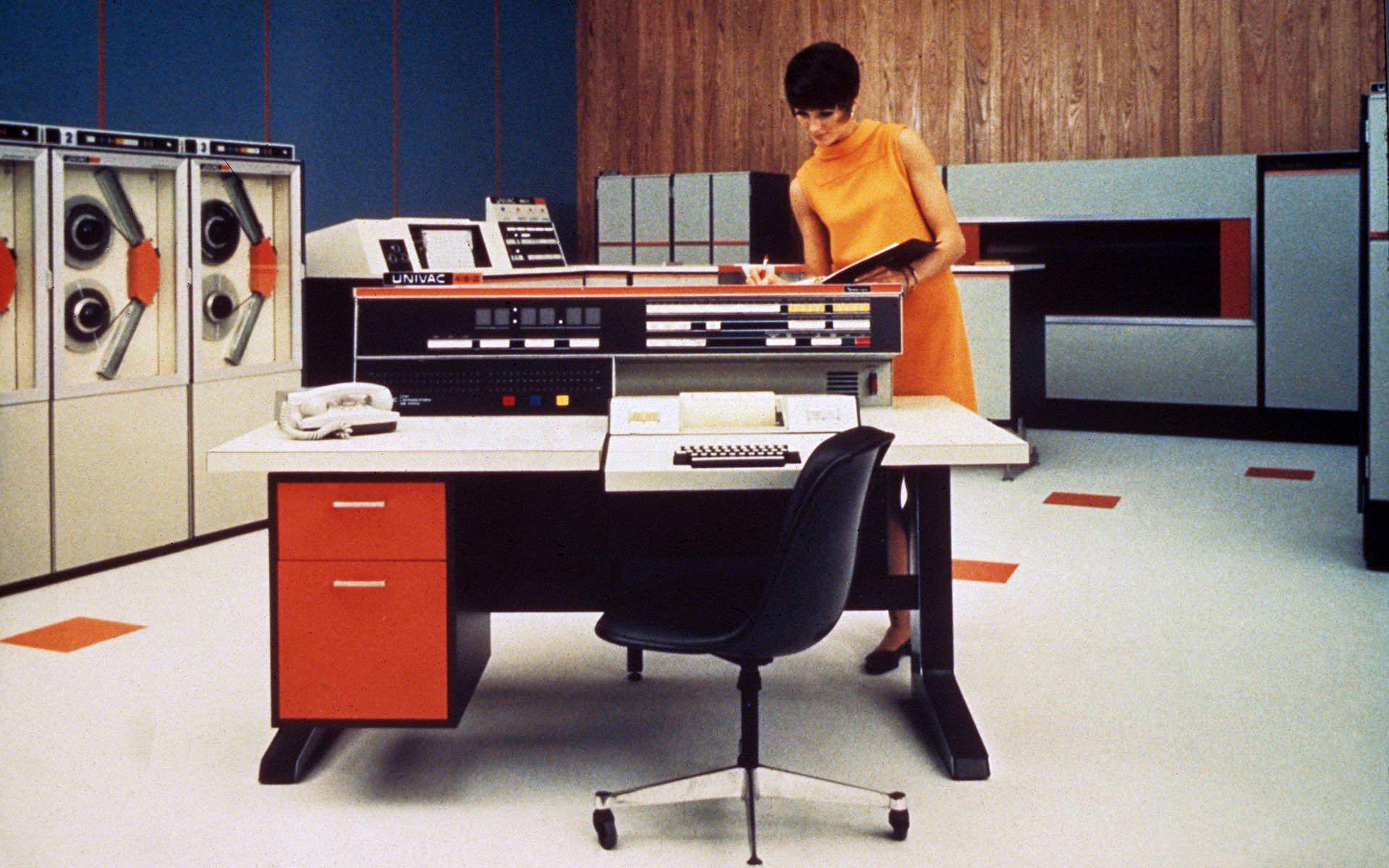 Когда клавиатуры были столами - 1