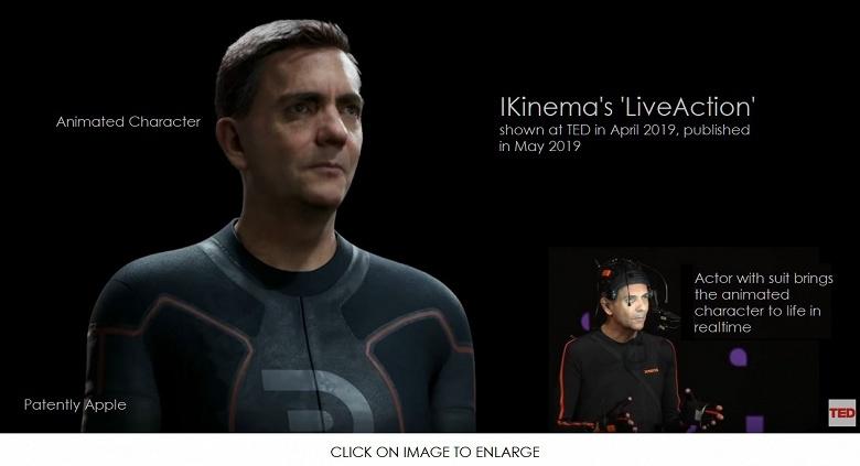 Компания Apple приобрела разработчика программы LiveAction, в которой используется инверсная кинематика
