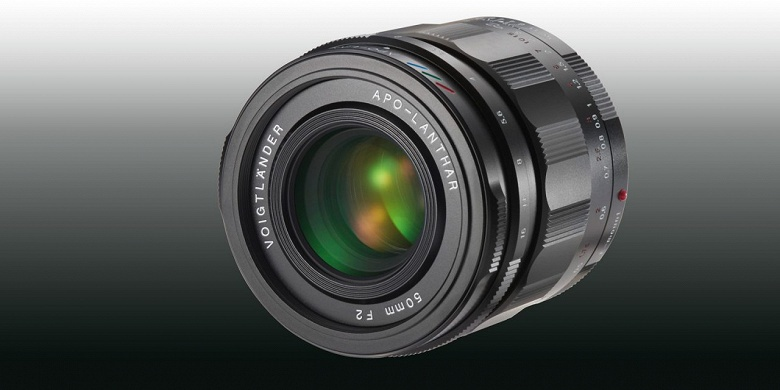 Представлен объектив Voigtlander 50 mm/1:2,0 Apo-Lanthar с креплением Sony E