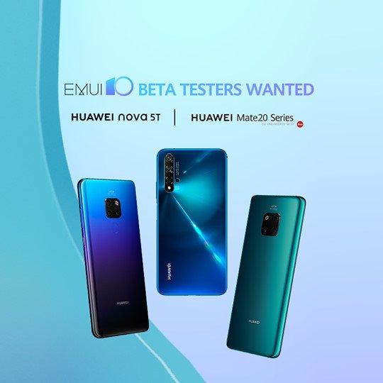 Huawei запускает EMUI 10 для пользователей Mate 20 и Nova 5T за пределами Китая