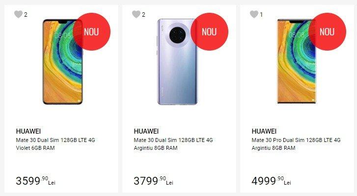 Отсутствие Google Play — не помеха. Huawei Mate 30 и Mate 30 Pro поступили в продажу в Европе