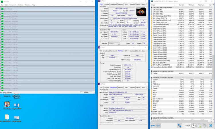 16-ядерный Ryzen 9 3950X разгоняется до 4,3 ГГц, утверждает Gigabyte