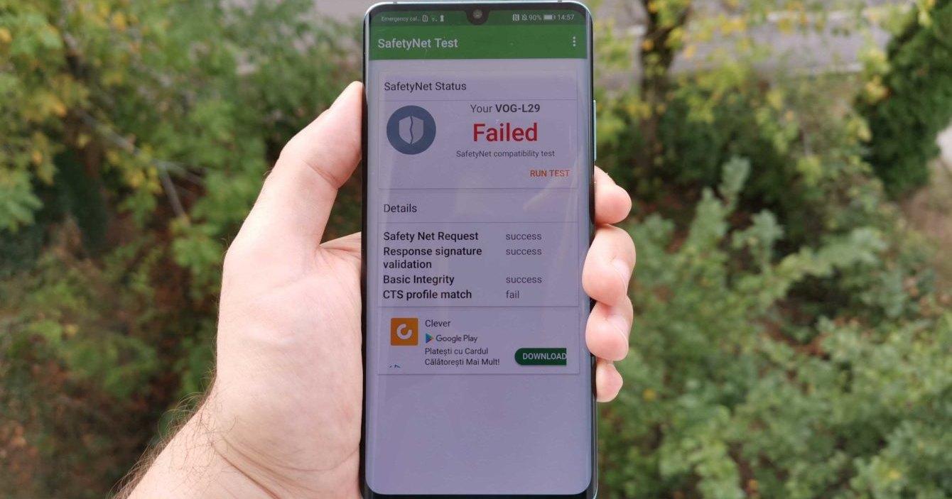 Huawei P30 заблокировали в магазине приложений Android