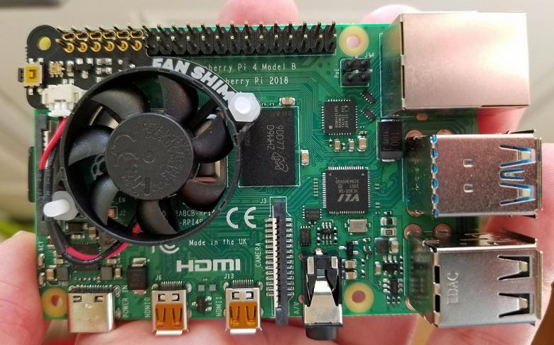 Raspberry Pi 4 разогнали до внушительной частоты