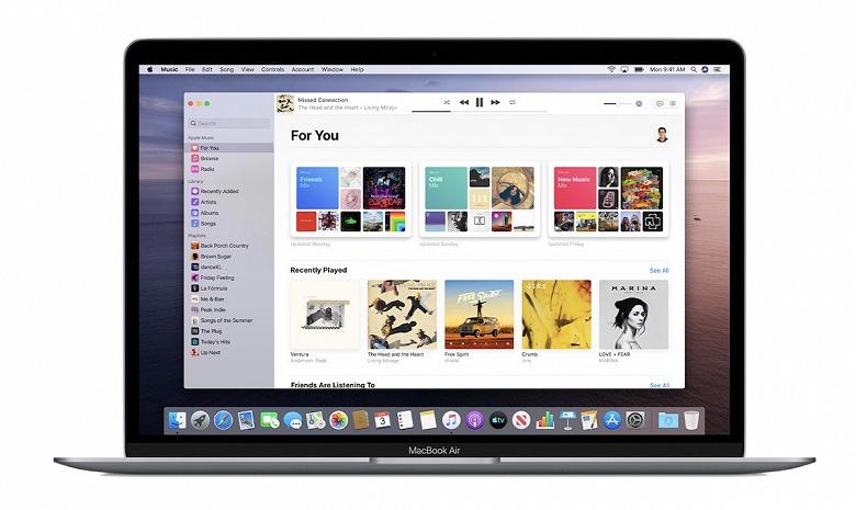 Apple выпустила новую операционную систему macOS Catalina без iTunes