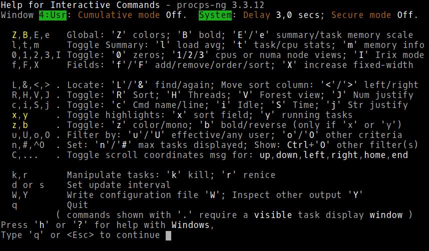 Настраиваем top в GNU-Linux - 10