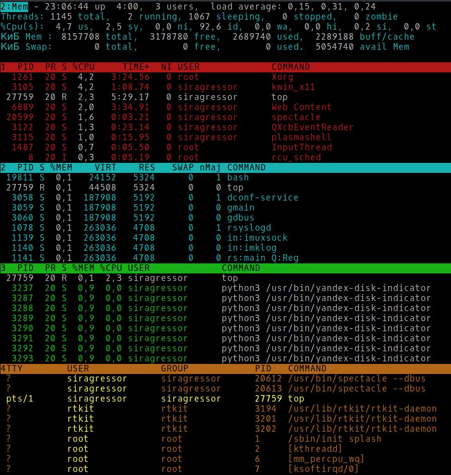 Настраиваем top в GNU-Linux - 2