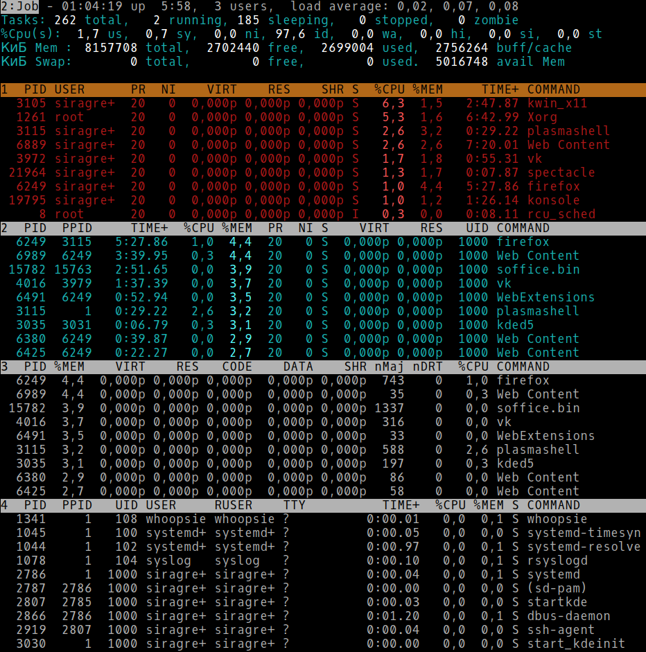 Настраиваем top в GNU-Linux - 8
