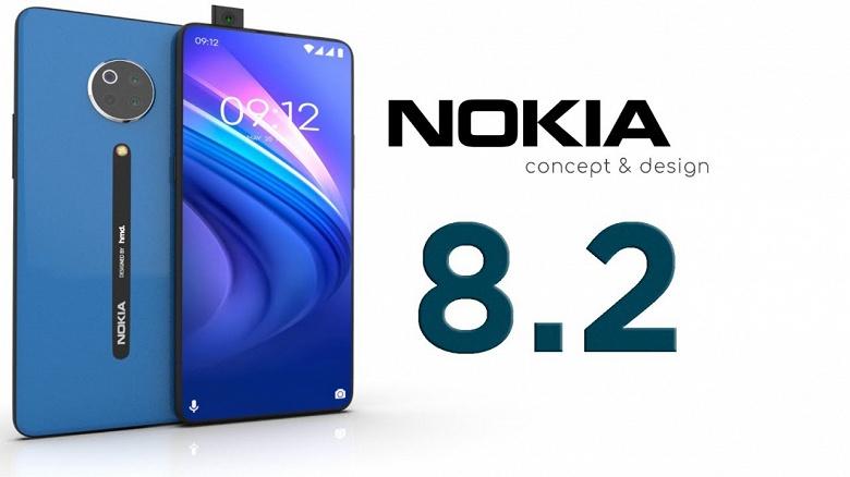 Nokia 8.2 получил уникальную фронтальную камеру