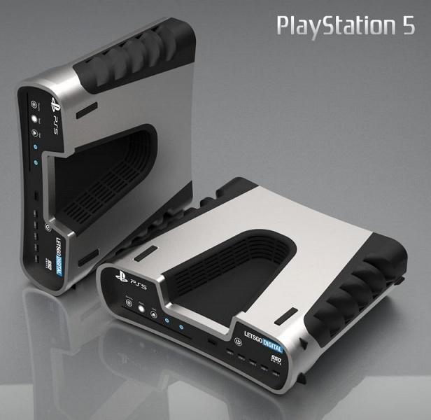 Галерея дня: прототип приставки Sony PlayStation 5 в правильных цветах