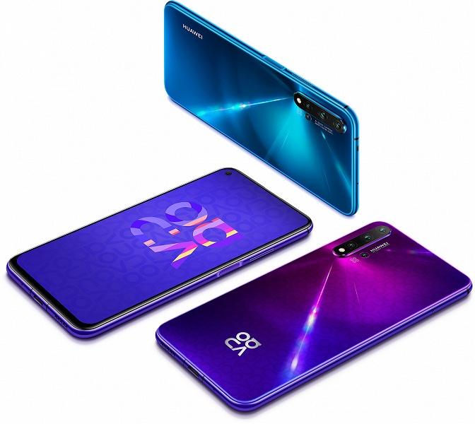 Смартфон Huawei Nova 5T дебютирует в Европе с установленными приложениями Google