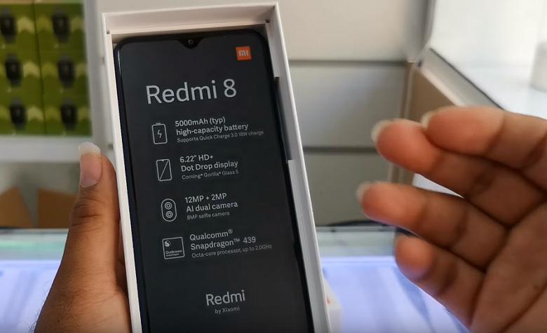 Видео дня: сверхбюджетный Redmi 8 распаковали на потеху публике за день до анонса