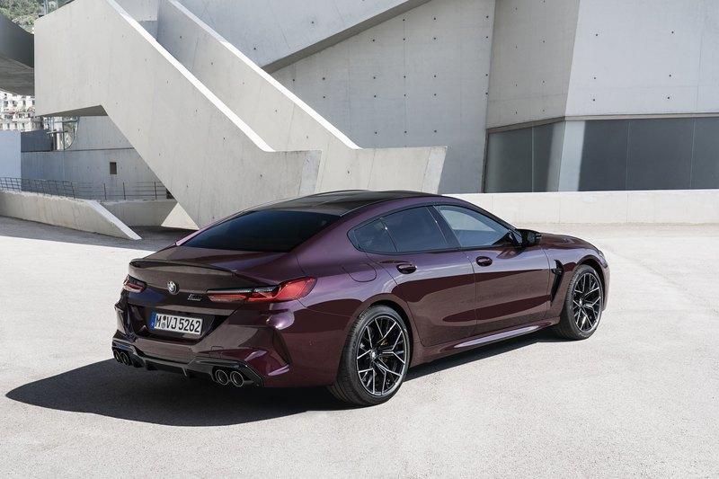 BMW представила 625-сильный M8 Competition Gran Coupe